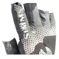 Перчатки SIMMS Solarflex Guide Glove цвет Hex Flo Camo Steel превью 7