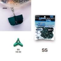 Защита для крючка MEIHO Versus VS-50 Ranker Pack SS (90 шт.) цв. зеленый