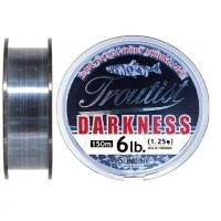 Леска SUNLINE Troutist Darkness 150 м цв. черный 0,26 мм