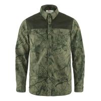 Рубашка FJALLRAVEN Varmland G-1000 Shirt M цвет Green Camo-Deep Forest