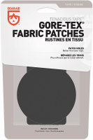 Набор заплаток GEAR AID Gore-Tex Fabric Patches цв. черный (10 х 5 см / диам. 7,6 см)