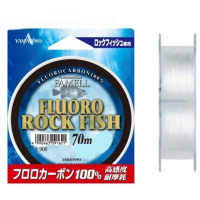 Флюорокарбон YAMATOYO Fluoro Rock Fish, #0.6, 70 м, прозрачный