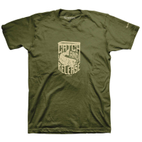 Футболка SIMMS Catch & Release T-Shirt цвет Military