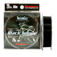 Флюорокарбон MEGABASS Dragoncall Black Jungle 100 м 0,235 мм цв. Черный
