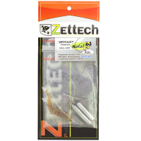 Оснастка ZETTECH Drop-Shot Pike/Zander 14/18 г, 7 см, нагр. 13 кг, (2 шт.) цв. #10