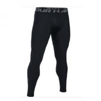 Тайтсы UNDER ARMOUR HeatGear Armour 2.0 Printed Leggings цвет Black / Halo Gray