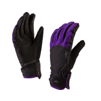 Перчатки SEALSKINZ Women's All Season Glove цвет black / purple