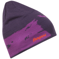 Шапка BERGANS Ski шапка цвет Plum / Pink Rose / Koi Orange