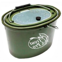 Кан TROUT PRO XHS-325 рыболовный 5 л зеленый