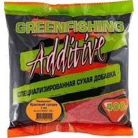 Добавка GREEN FISHING Pastoncino Сухарь Красный 0,4 кг
