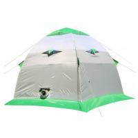 Палатка ЛОТОС-ТЕНТ Lotos 3 трехместная цвет Серый / Салатовый