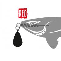 Грузило XBAITS X Sinker Red 15 г (3 шт.)