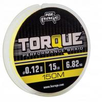 Плетенка FOX RAGE Torque 150 м 0,08 мм цв. желтый