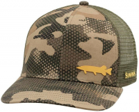 Кепка SIMMS Payoff Trucker цв. Pike Hex Flo Camo Timber