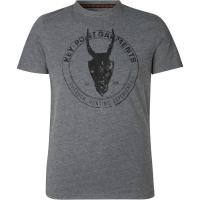 Футболка SEELAND Key-Point T-Shirt цвет Grey Melange