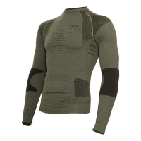 Термофутболка X-BIONIC Combat Man Uw Shirt Long Sl цвет Антрацит