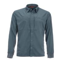 Рубашка SIMMS Bugstopper Intruder BiComp LS Shirt '21 цвет Storm превью 1