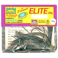 Бактейл STRIKE KING Premier Elite Jig 14 г (1/2 oz) цв. camouflage flash