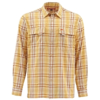 Рубашка SIMMS Legend Shirt цвет Bright Yellow Plaid