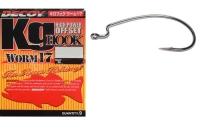 Крючок офсетный DECOY Kig Hook Worm 17 № 3 (9 шт.)