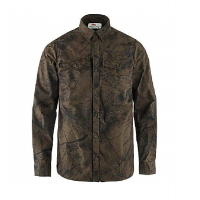 Рубашка FJALLRAVEN Varmland G-1000 Shirt M цвет Dark Olive Camo