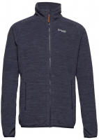 Куртка BERGANS Hareid Fleece Jacket NoHood мужская цвет Dark Navy Mel