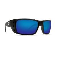 Очки COSTA DEL MAR Permit 580 P р. XL цв. Matte Black цв. ст. Blue Mirror