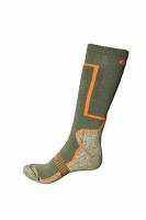 Носки ONCA Sock Late Season цвет Зеленый / Серый / оранжевый