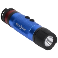 Фонарь светодиодный NITE IZE 3-in-1 LED Mini Flashlight (АА) цв. синий