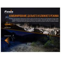 Фонарь налобный FENIX HL18R-T (Cree XP-G3 S3, EVERLIGHT 2835) превью 2