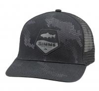 Кепка SIMMS Patch Trucker цв. Hex Camo Carbon