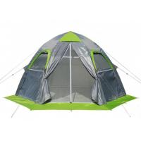 Палатка ЛОТОС-ТЕНТ Lotos 5 четырехместная цвет Серый / Салатовый