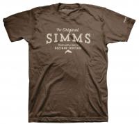 Футболка SIMMS The Original T-Shirt цвет Brown
