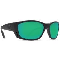Очки COSTA DEL MAR Fisch 580 GLS р. XL цв. Blackout цв. ст. Green Mirror