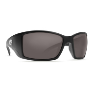 Очки COSTA DEL MAR Blackfin 580 GLS р. L цв. Matte Black цв. ст. Gray Silver Mirror