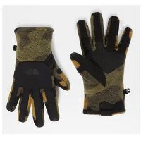 Перчатки THE NORTH FACE Men's Denali Etip Glove цвет Burnt Olive Green Woods Camo