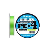 Плетенка SUNLINE Siglon PEx4 300 м цв. светло-зеленый 0,171 мм