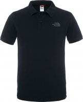 Рубашка-поло THE NORTH FACE Piquet Polo Shirt цвет черный