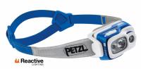 Фонарь налобный PETZL Swift RL 900 люмен цв. синий