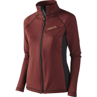 Толстовка HARKILA Vestmar Hybrid Lady Fleece Jacket цвет Syrah red melange