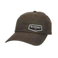 Кепка SIMMS Oil Cloth Cap цв. Coffee