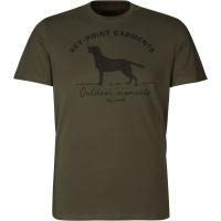 Футболка SEELAND Key-Point T-Shirt цвет Pine green