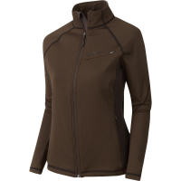 Толстовка HARKILA Vestmar Hybrid Lady Fleece Jacket цвет Slate brown melange