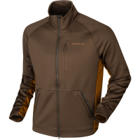 Куртка HARKILA Borr Hybrid Fleece цвет Slate Brown / Rustique Clay