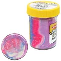 Паста BERKLEY PowerBait Natural Scent Glitter TroutBait аттр. Чеснок цв. Капитан Америка
