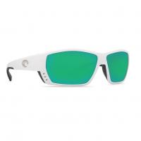 Очки поляризационные COSTA DEL MAR Tuna Alley 580 GLS р. L цв. White цв. ст. Green Mirror