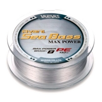 Плетенка VARIVAS Avani Sea Bass Max Power Braid PEx8 150 м цв. Серый # 0,8