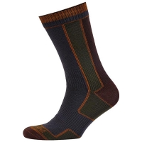 Носки SEALSKINZ Walking Sock цвет Green / Olive