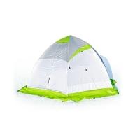 Палатка ЛОТОС-ТЕНТ Lotos 4 трехместная цвет Серый / Салатовый