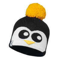 Шапка BUFF Child Knitted & Polar Hat Penguin цв. Black-Black-Standard/Od